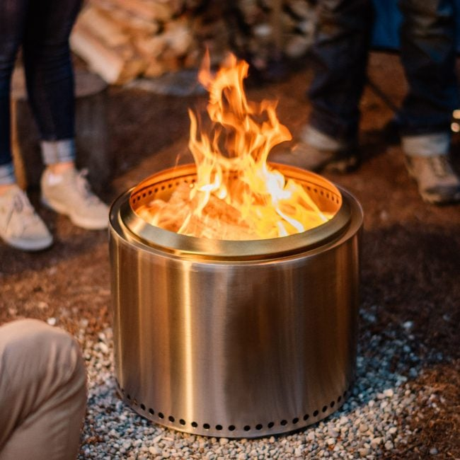 Best Patio Heater (Wood-burning): Solo Stove