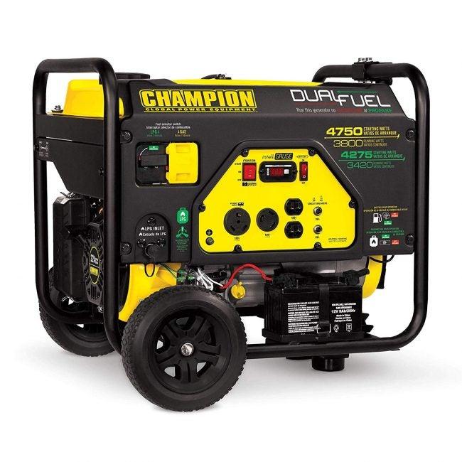 Best Portable Generator: Champion