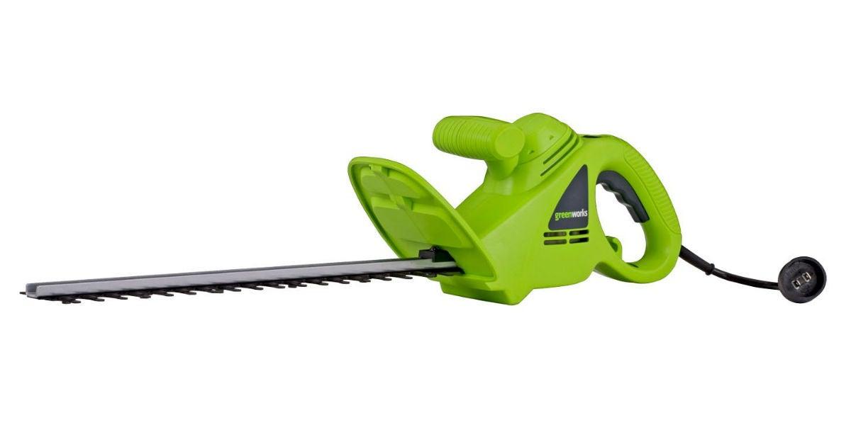 Best Hedge Trimmer: Greenworks
