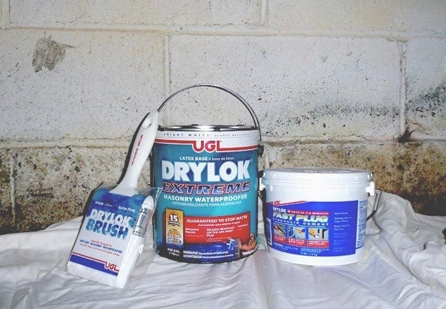 Waterproofing Basement Walls with DRYLOK Extreme