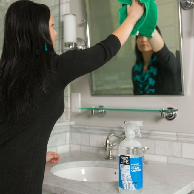 Best Ammonia-Free Bathroom Cleaner for Mirrors: Better Life