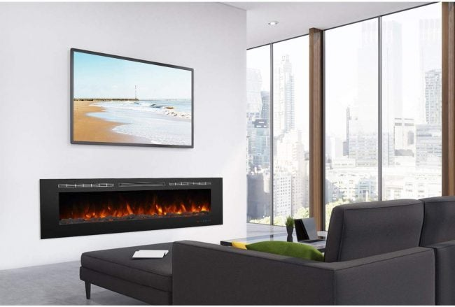Best Recessed Panel Electric Fireplace: Valuxhome