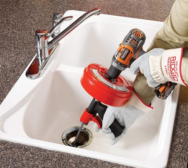 The Best Drain Snake: Ridgid Power Spin