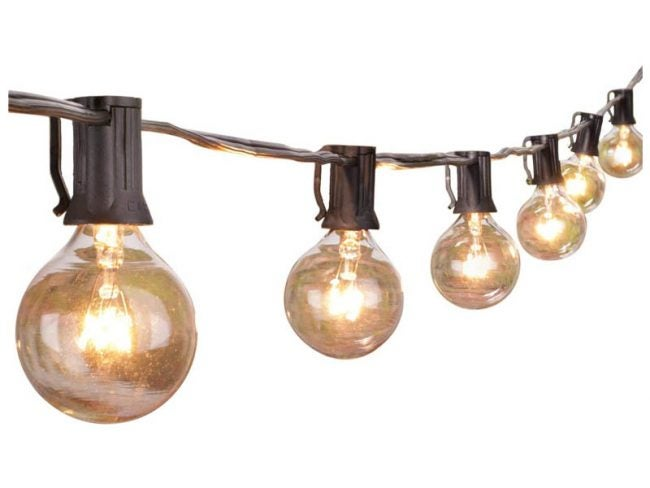 The Best String Lights Option: Brightown 100-Foot Outdoor String Lights