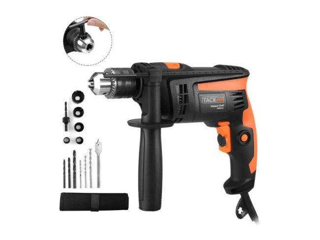 The Best Hammer Drill Option: Tacklife 1/2-Inch Electric Hammer Drill