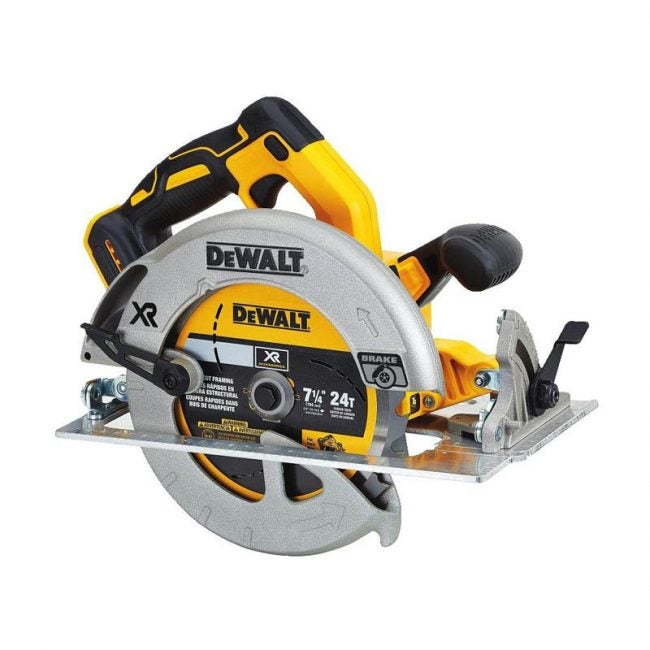 "The Best Circular Saw Option: DEWALT 20V 7 ¼"" Circular Saw"
