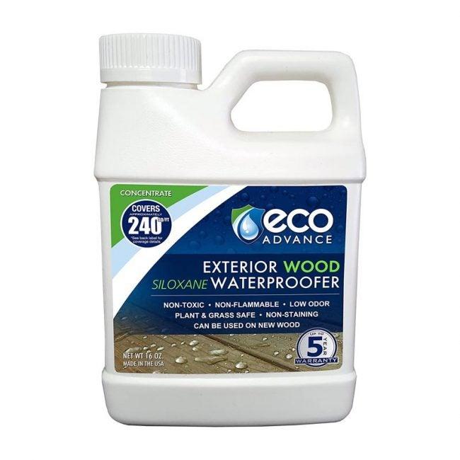 The Best Deck Sealer Option: Eco Advance Exterior Wood Waterproofer