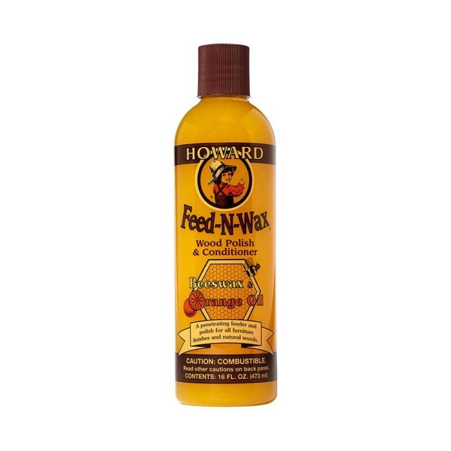 The Best Furniture Polish Option: Howard Feed-N-Wax Wood Polish
