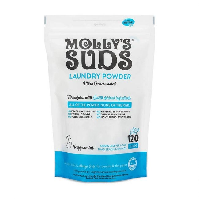 The Best Laundry Detergant Option: Molly's Suds Original Laundry Detergent Powder
