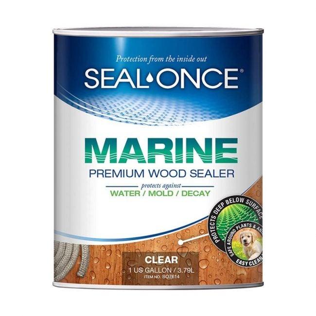 The Best Deck Sealer Option: Seal-Once Marine Premium Wood Sealer