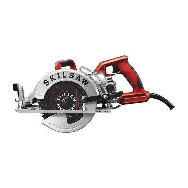 "The Best Circular Saw Option: SKILSAW 7 ¼"" Worm Drive Circular Saw"