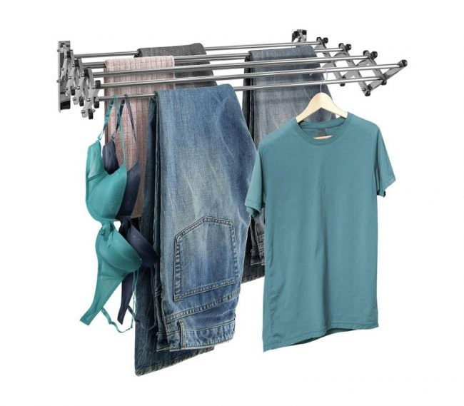 The Best Drying Rack Option: Sorbus Clothes Drying Rack, Wall Mounted Space-Saver