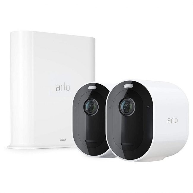The Best DIY Security System Options: Arlo Pro 3 Wire-Free Camera System