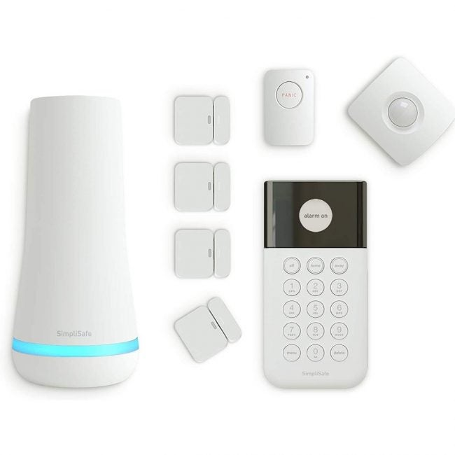 The Best DIY Security System Options: SimpliSafe 8-Piece Home Security System