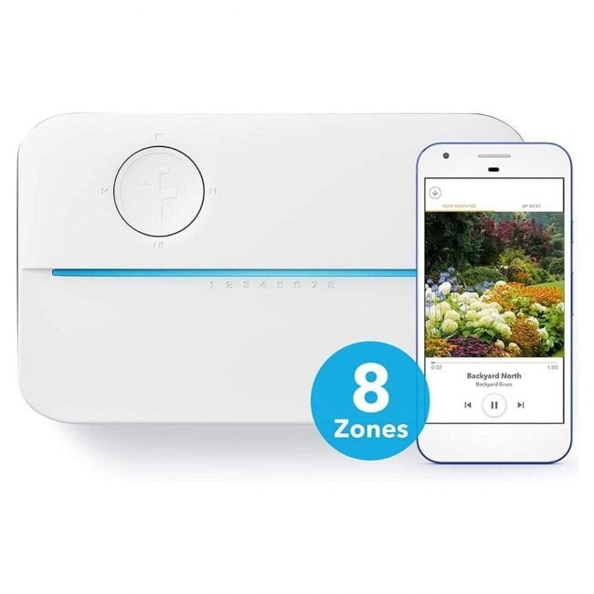 The Best Sprinkler Controller Options: Netro Sprite: Rachio 8ZULW-C