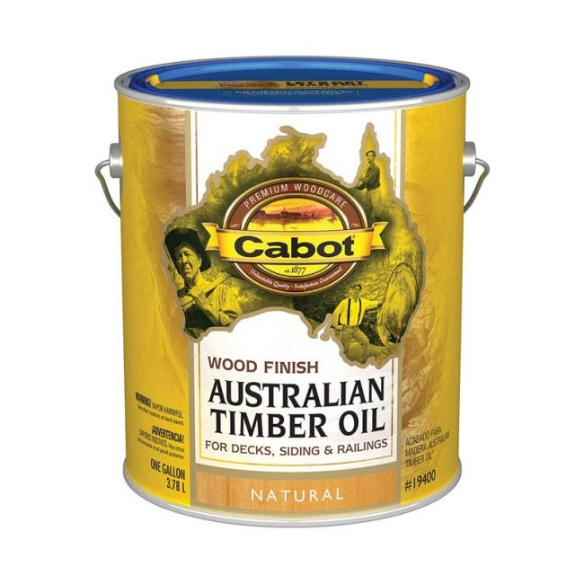The Best Fence Stain Option: Cabot Australian Timber Oil Stain