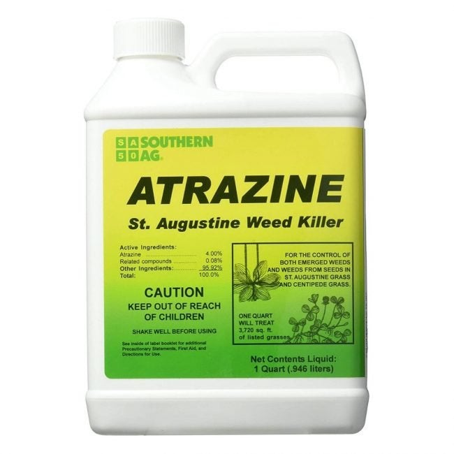 The Best Crabgrass Killer Option: SOUTHERN AG ATRAZINE St. Augustine Weed Killer