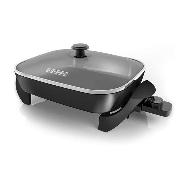 The Best Electric Skillet Option: Black & Decker Family-Sized Electric Skillet